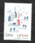 Sellos del Mundo : Europa : Lituania : Paisaje