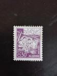 Stamps Algeria -  Trabajo