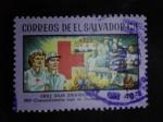 Sellos del Mundo : America : El_Salvador :  Cruz Roja