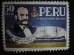 Stamps America - Peru -  Personaje