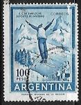 Stamps Argentina -  Bariloche deportes de invierno
