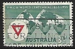 Stamps : Oceania : Australia :  Y M C A
