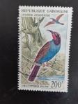 Stamps Gabon -  aves