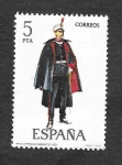 Stamps Spain -  Edf 2454 - Uniformes Militares (IX Grupo)