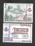 Stamps Europe - Spain -  Museo Postal