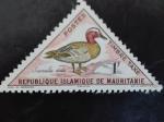 Sellos de Africa - Mauritania -  Aves