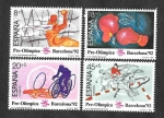 Stamps Spain -  Barcelona´92 (II Serie Pre-Olímpica)