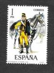 Sellos de Europa - España -  Uniformes Militares (III Grupo)