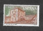 Stamps Spain -  Monasterio de San Juan de la Peña