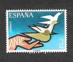 Stamps : Europe : Spain :  Edf 2378 - Asociación de Inválidos Civiles