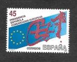 Stamps Spain -  Presidencia Española de las Comunidades Europeas