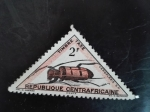 Stamps Central African Republic -  Insecto
