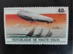 Sellos de Africa - Burkina Faso -  Zeppelin