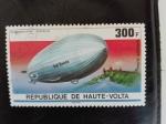 Stamps Burkina Faso -  Zeppelin