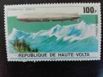 Stamps : Africa : Burkina_Faso :  Zeppelin