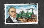 Stamps Spain -  Edf 2173 - 125º Aniversario del Ferrocarril Barcelona-Mataró