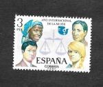 Stamps Spain -  Edf 2264 - Año Internacional de la Mujer