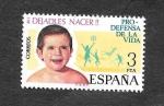 Sellos del Mundo : Europa : España : Campaña Pro-Defensa de la Vida