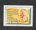 Stamps : Europe : Spain :  XIII Congreso del Notariado Latino