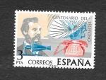 Sellos del Mundo : Europa : España : Centenario del Teléfono