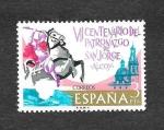 Stamps : Europe : Spain :  VII Centenario de la aparición de San Jorqe en Alcoy