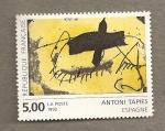 Sellos de Europa - Francia -  Antoni Tapies