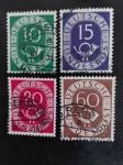 Sellos de Europa - Alemania -  Corneta correos