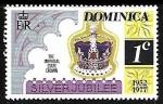 Sellos del Mundo : America : Dominica : Coronas y Diademas