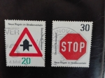 Stamps Germany -  Señales