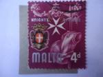 de Europa - Malta -  Caballero de Malta -. Historia de Malta (1965-1977)