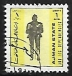 Stamps : Asia : United_Arab_Emirates :  Knight - Italy 17th century