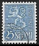 Stamps : Europe : Finland :  Escudo de Armas