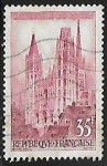 Stamps France -  Rouen (Cathedral)