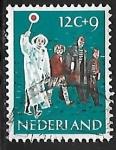 Sellos de Europa - Holanda -  Lollipop guiando niños
