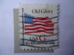 Stamps : America : United_States :  Vieja Gloria - Bandera -Solo para Direcciones de Estados Unidos.