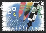 Stamps Netherlands -  Lapices de colores