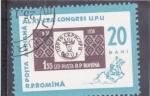 Sellos de Europa - Rumania -  SELLOS SOBRE SELLO-CONGRESO U.P.U