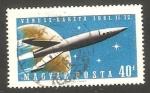 Stamps Hungary -  1433 - Lanzamiento a Venus de Venera I