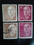 Stamps Spain -  Franco el Caudillo