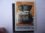 Sellos de America - Granada -  Misión Espacial Viking - Helio - Mission - Assembly