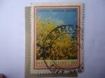 Stamps Italy -  Flora - Ginesta-Spartium junceum