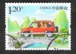 Sellos de Asia - China -  5223 - En carretera de vacaciones