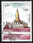 Sellos de Asia - Laos -  That Luang temple