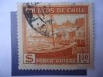 Sellos de America - Chile -  Calbuco - Barco de Pesca.