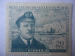 Sellos de America - Chile -  Cap. Luis Pardo Villalón y la Nave Yelcho-Armada Nacional - Cincuentenario del Rescate de Sir Ernest