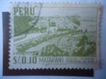 Stamps Peru -  Matarani - Nuevo Puerto Comercial del Sur