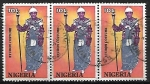 Sellos de Africa - Nigeria -  Trajes tipicos