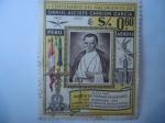 sellos de America - Perú -  1er. Centenario del Nacimiento de Daniel Alcides Carrión Garcia (1857-18859) 1857-1957 -