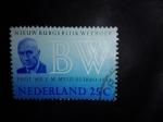 Stamps Netherlands -  Personajes