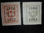 Sellos de Europa - Bélgica -  Numeros Heraldicos